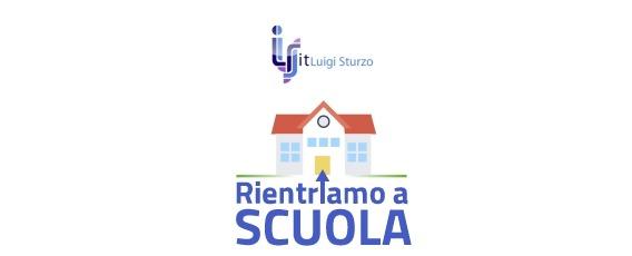 RIENTRO A SCUOLA ED ORGANIZZAZIONE DIDATTICA